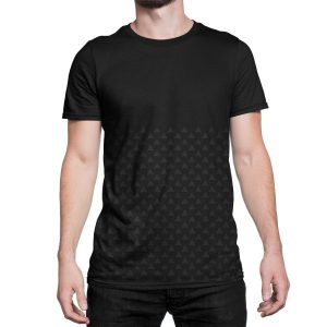 vestita-maglietta-nera-pattern-triangle-black-t-shirt-stampa-grafica-nera-graphic-print-black