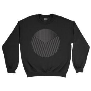 felpa-nera-circle-edge-black-sweatshirt-stampa-grafica-nera-graphic-print-black