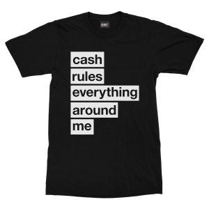 maglietta-nera-cream-cash-rules-everything-around-me-black-t-shirt-stampa-grafica-bianca-graphic-print-white