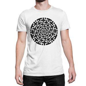 vestita-maglietta-bianca-cross-circle-white-t-shirt-stampa-grafica-nera-graphic-print-black